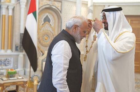 UAE confers award on Modi amid Kashmir crackdown