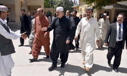 امان اللہ زارکزئی قتل کیس: سابق وزیراعلیٰ کی ضمانت از قبل گرفتاری منظور