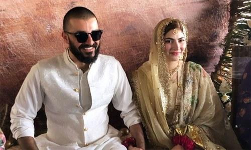 حمزہ علی عباسی اور نیمل خاور شادی کے بندھن میں بندھ گئے