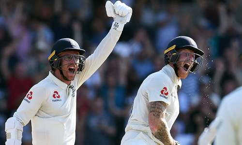 Stokes's stunning century sees England to one-wicket win in Ashes thriller