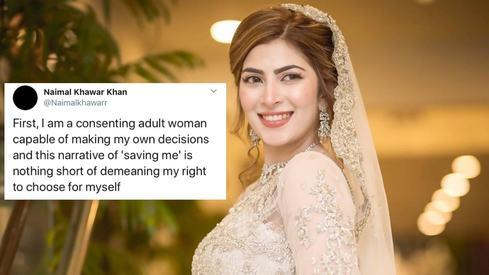 Naimal Khawar wants you to stop assuming Hamza Ali Abbasi made her quit acting