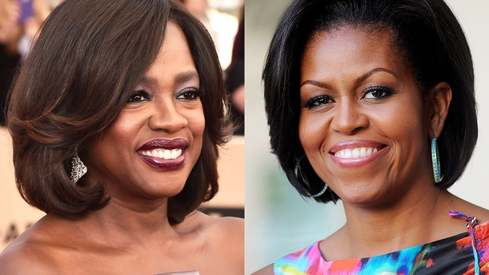 Is Viola Davis playing Michelle Obama in an upcoming TV series?