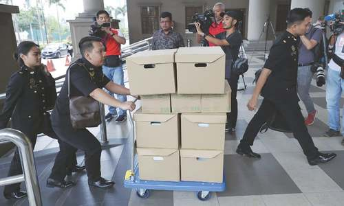 Malaysia's ex-PM Najib 'pivotal' in 1MDB plunder, trial hears