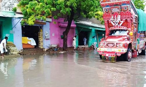 Lightening kills 3 in Thar as rains lash parts of Sindh