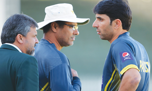 Misbah, Waqar front runners for posts of head coach, bowling coach