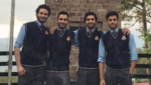 OKB and Ahad Raza Mir are college buddies in Hum TV's Ehd-e-Wafa