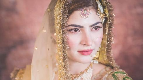 Would you do your own makeup for your wedding? Naimal Khawar did