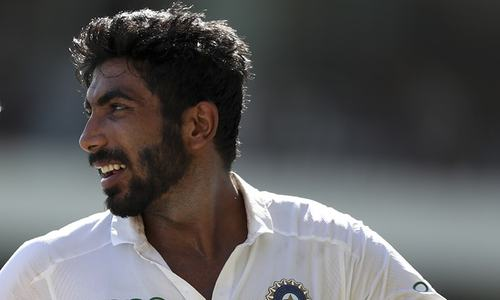 Bumrah hat trick puts India in control in Test vs West Indies