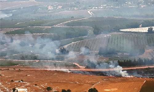 Israel, Hezbollah exchange fire after week of tensions