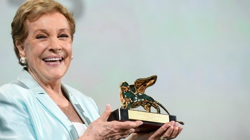 Julie Andrews honoured with Lifetime Achievement Award in Venice