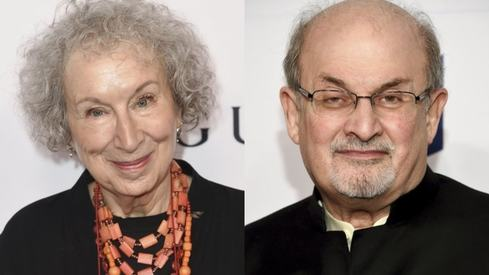 Margaret Atwood, Salman Rushdie among fiction Booker Prize finalists
