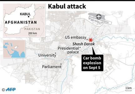 Nato troops among 10 dead in Taliban-claimed Kabul blast