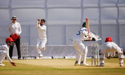 Rashid's all-round show puts Afghanistan on top in one-off Test against Bangladesh