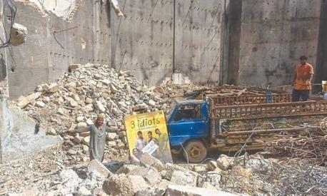 Karachi's once bustling Prince Cinema has been demolished