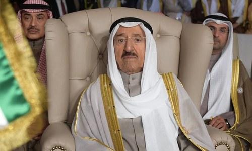 Kuwait's ruler, 90, in US hospital; cancels Trump visit