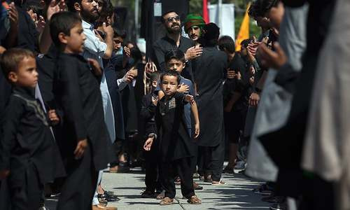 In pictures: Muslims across the world commemorate Youm-i-Ashur