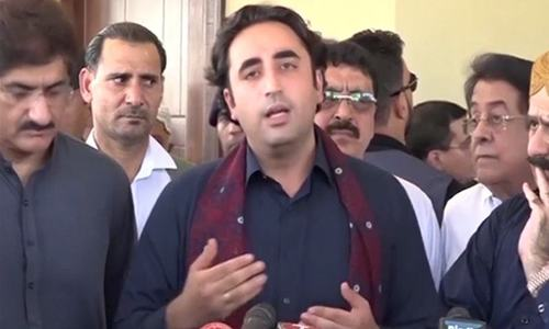 PPP not to join Fazlur Rehman's Islamabad march but will provide 'moral support', says Bilawal