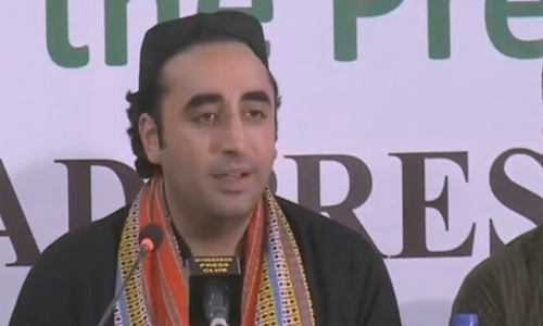 Bilawal accuses centre of trying to 'occupy Karachi'