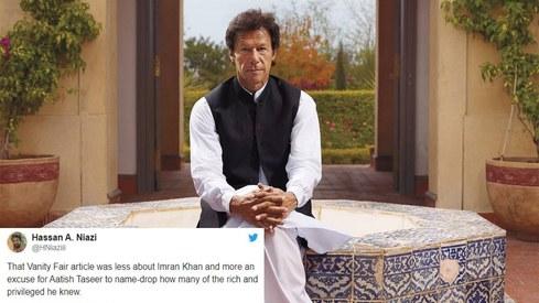 An Imran Khan profile has left desi Twitter divided