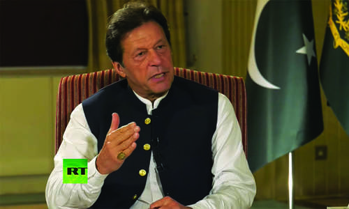 Kashmir requires immediate intervention of UN, world powers: PM Imran