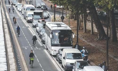 Chaos in Paris as metro workers go on strike