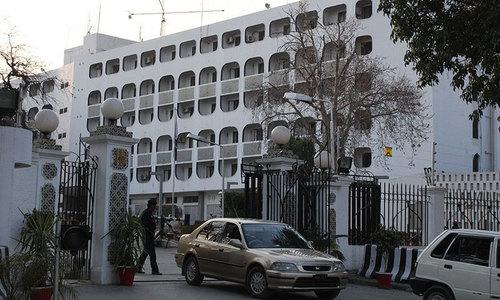 پاک-افغان سرحد پر فائرنگ کے خلاف دفترخارجہ کا افغانستان سے احتجاج