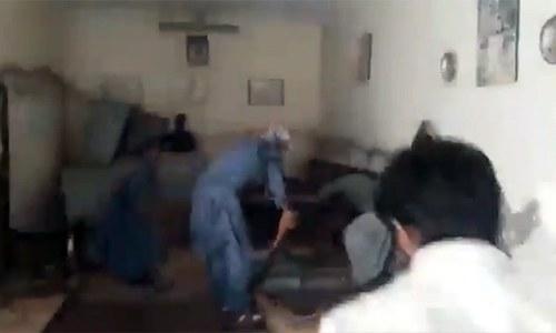 گھوٹکی: اسکول پرنسپل پر توہین مذہب کا الزام، شہریوں کا احتجاج