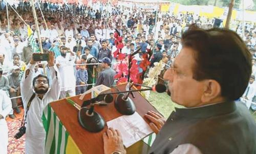Haider assures IHK residents of support