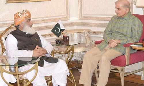 اسلام آباد لاک ڈاؤن کیلئے جے یو آئی ایف کو مسلم لیگ(ن) کی حمایت حاصل