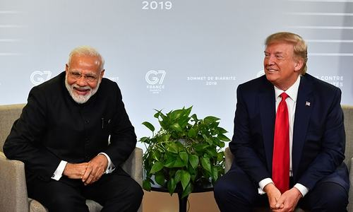 In show of bond, Trump to join Modi in mass Houston rally