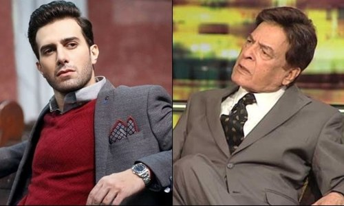 قوی خان اور عماد عرفانی تحریک خلافت پر مبنی فلم کا حصہ