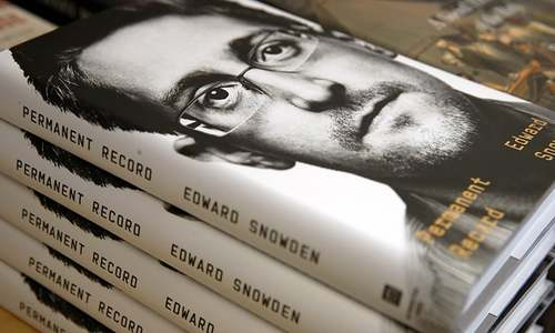 US Justice Department sues Snowden over new book