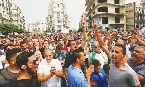 Algerians reject polls without reforms