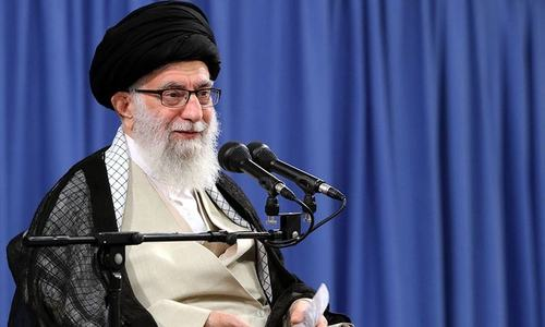 Khamenei rules out talks with Washington as tensions rise