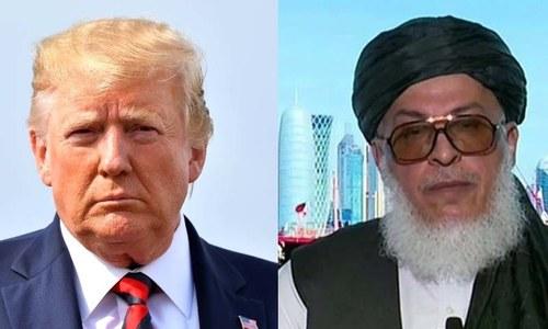 امن مذاکرات کیلئے 'ہمارے دروازے کھلے ہیں' طالبان کا امریکا کو پیغام