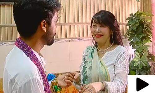 پاکستانی نوجوان کی محبت جاپانی لڑکی کو پاکستان کھینچ لائی