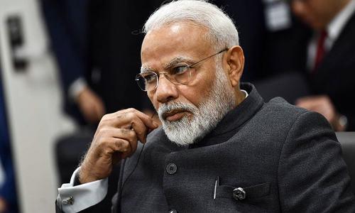 پاکستان نے مودی کو فضائی حدود استعمال کرنے کی بھارتی درخواست مسترد کردی