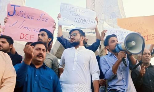 Civil society continues protest in Karachi against Sindh govt's 'failure to ensure rights of minorities'
