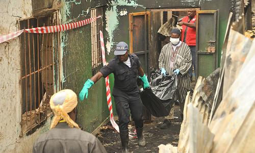 لائبیریا کے اسکول میں آگ لگنے سے 26 بچے جاں بحق
