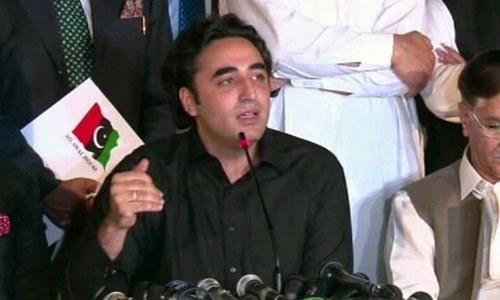 عمران خان کشمیر کاز کیلئے بوجھ ہیں، بلاول