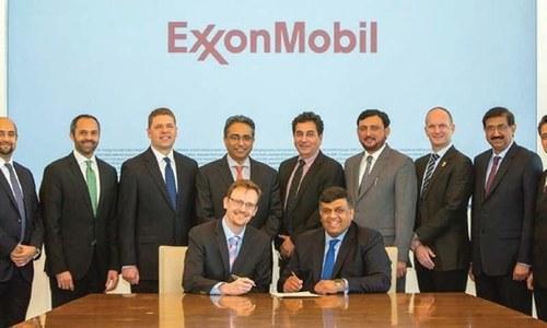 ٹرانسپورٹ کے شعبے کو ایل این جی کی فراہمی کے لیے ایگزون موبل سے معاہدہ