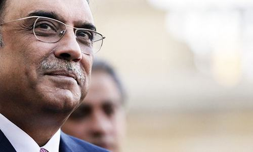 Zardari to be indicted in Park Lane case