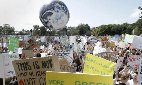 Tens of thousands to take part in global climate protests today