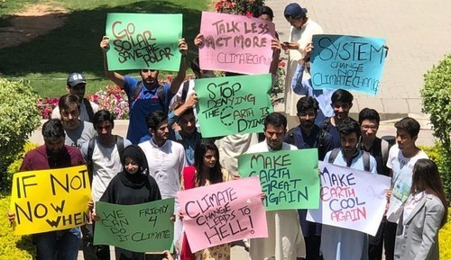 Pakistanis are marching to combat climate change