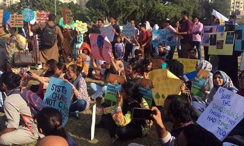 پاکستان سمیت دنیا بھر میں موسمیاتی تبدیلی سے متعلق اقدامات کیلئے مارچ