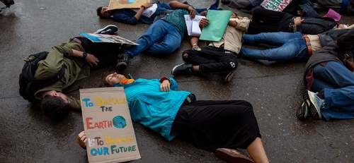 'Save our future': Students across the world march to demand climate action