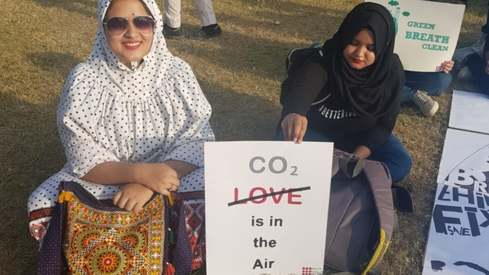These posters from Climate March Pakistan are speaking our hearts out