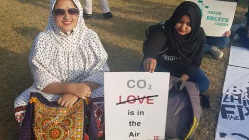 These posters from the Climate March Pakistan are speaking our hearts out