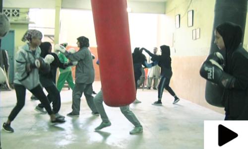 لیاری کی لڑکیاں باکسنگ میں صلاحیتیوں کا لوہا منوانے کے لیے پرعزم