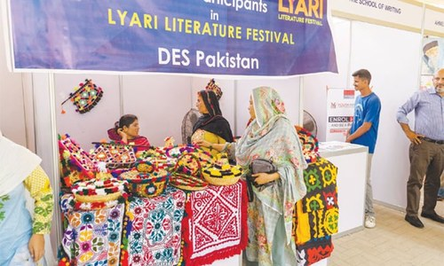 Two-day Lyari Literature Festival kicks off